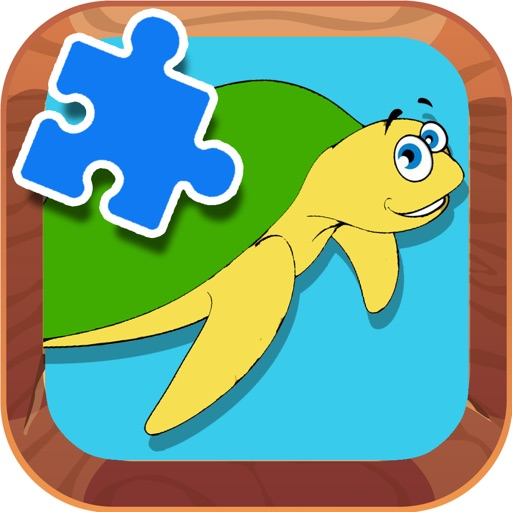 Jigsaw Puzzles Games Turtle Animal Version app logo