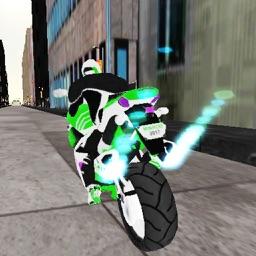 Subway City Bike Racer 3D