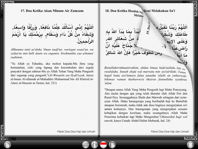 Hajj and Umrah Duaa Collection for iPad screenshot-3