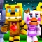 ~NEW FREE FNAF SKINS allows you to change your skin to a FNAF skin for Minecraft PE And PC