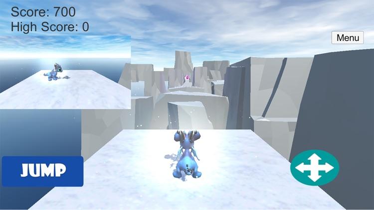Ice Dragon Runner screenshot-3