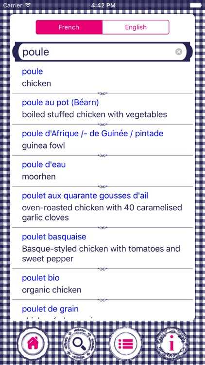 Culinary French A-Z Dictionary screenshot-4