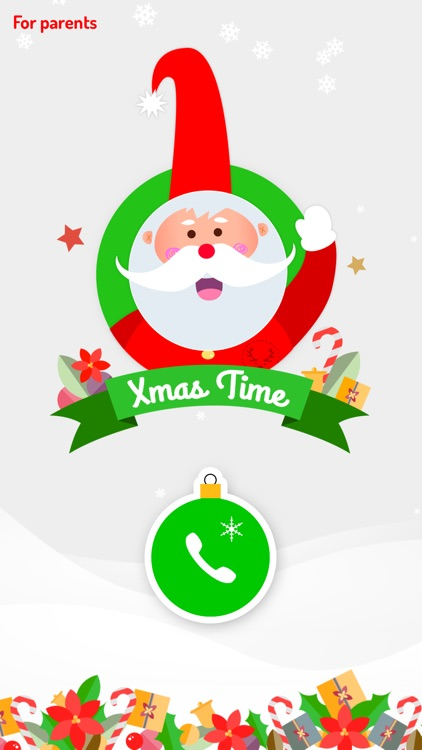 XmasTime - Video calls to your own family Santa screenshot-4