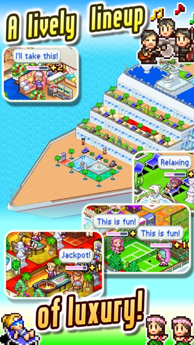 World Cruise Story Screenshots