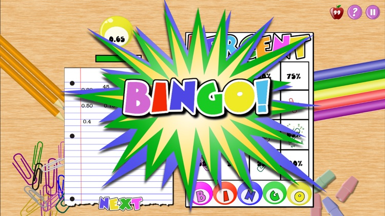 Percent Bingo screenshot-2