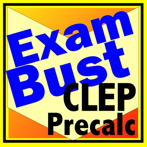 CLEP Precalculus Prep Flashcards Exambusters