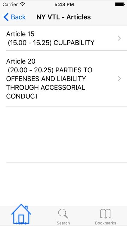 NY Penal Code