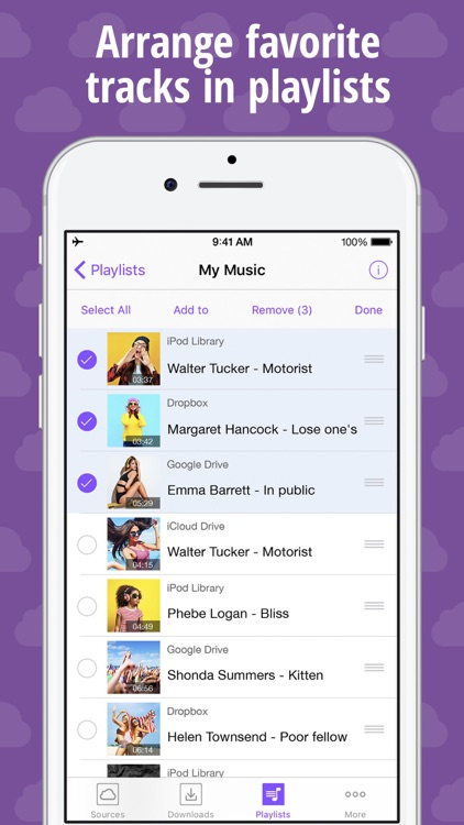 MUSIC.WITH.ME – Offline Player & Cloud Streamer screenshot-3