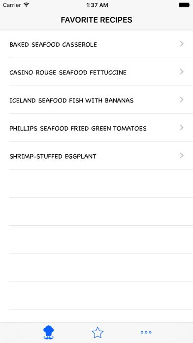 Seafood Recipes review screenshots
