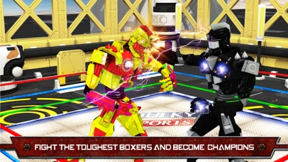 Robots Real Boxing - War robots fights and combat screenshot 2
