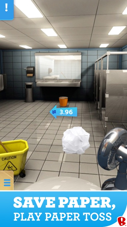 Paper Toss screenshot-3