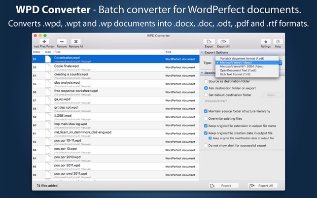 5 Ways to Open/Convert and Edit a .WPD (Word Perfect) File on a Windows PC