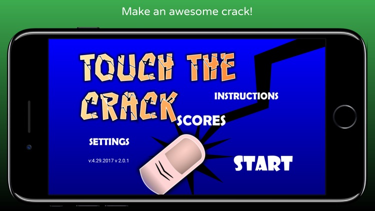 Touch The Crack