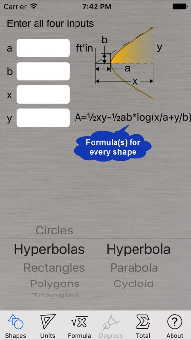Area Calculator review screenshots