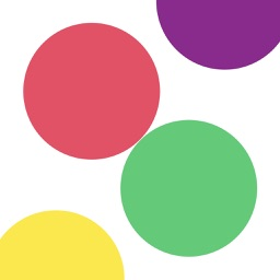 frapper: A game hitting the ball of the same color