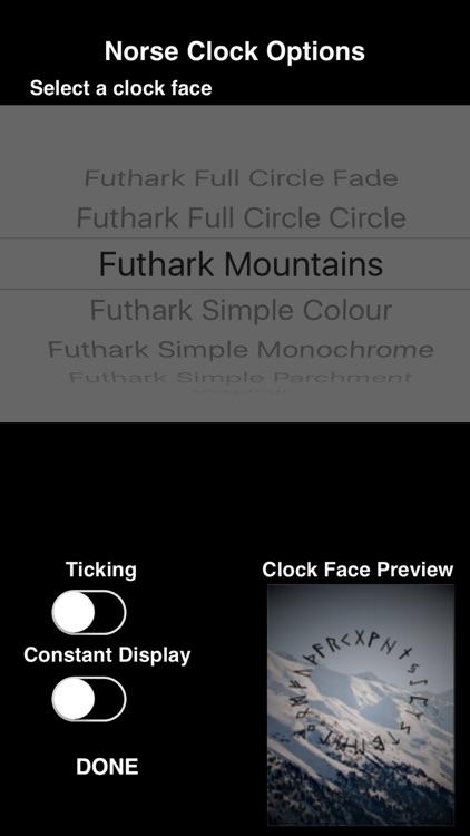 Norse Clock screenshot-4