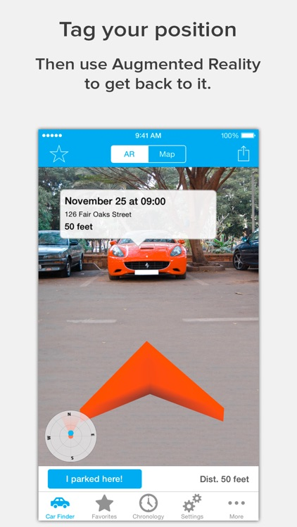 Find Your Car with AR: Augmented Car Finder