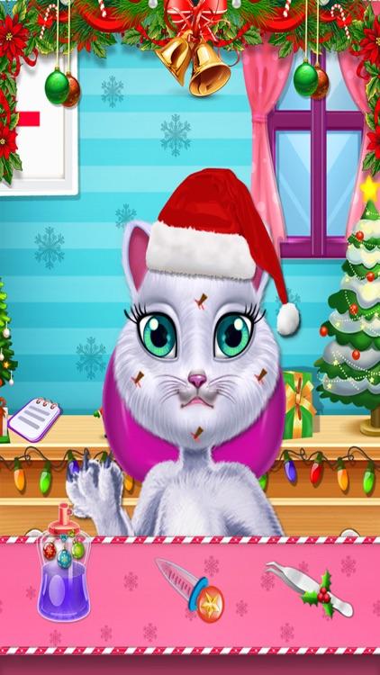 christmas kitty spa salon cat beauty care salon by akash patel