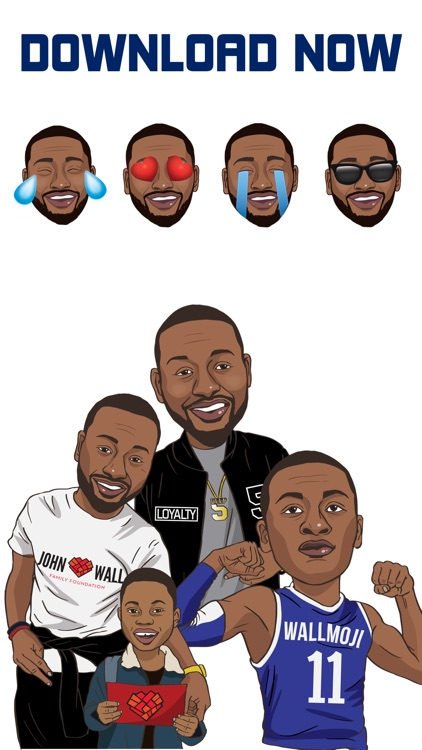 WallMoji by John Wall - Emojis and Stickers screenshot-4