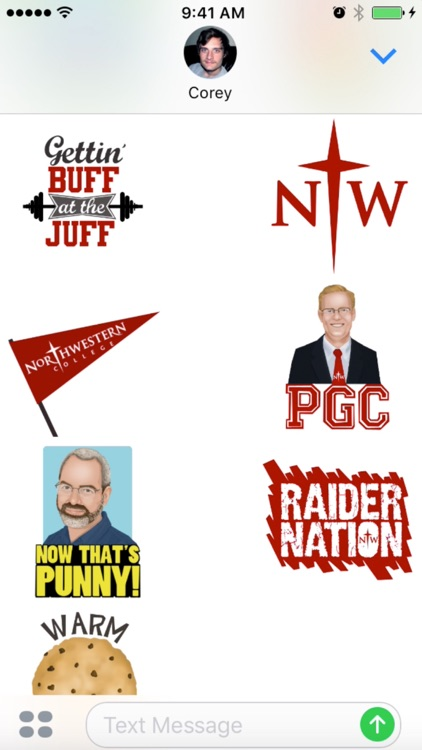 Northwestern College Sticker Pack