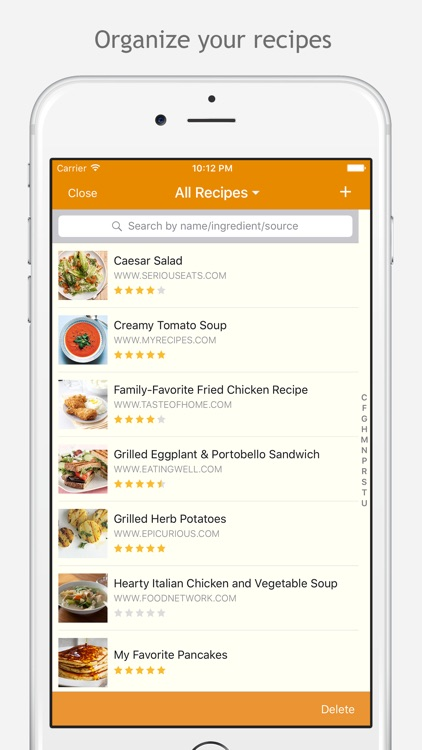 MealBoard - Meal and Grocery Planner app image