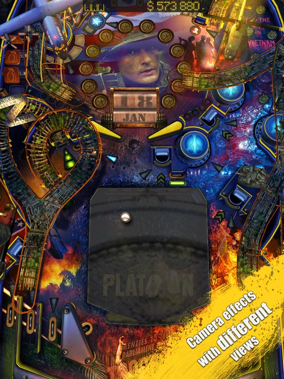 War Pinball HD screenshot-4