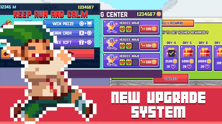 Pixel Super Heroes screenshot-2