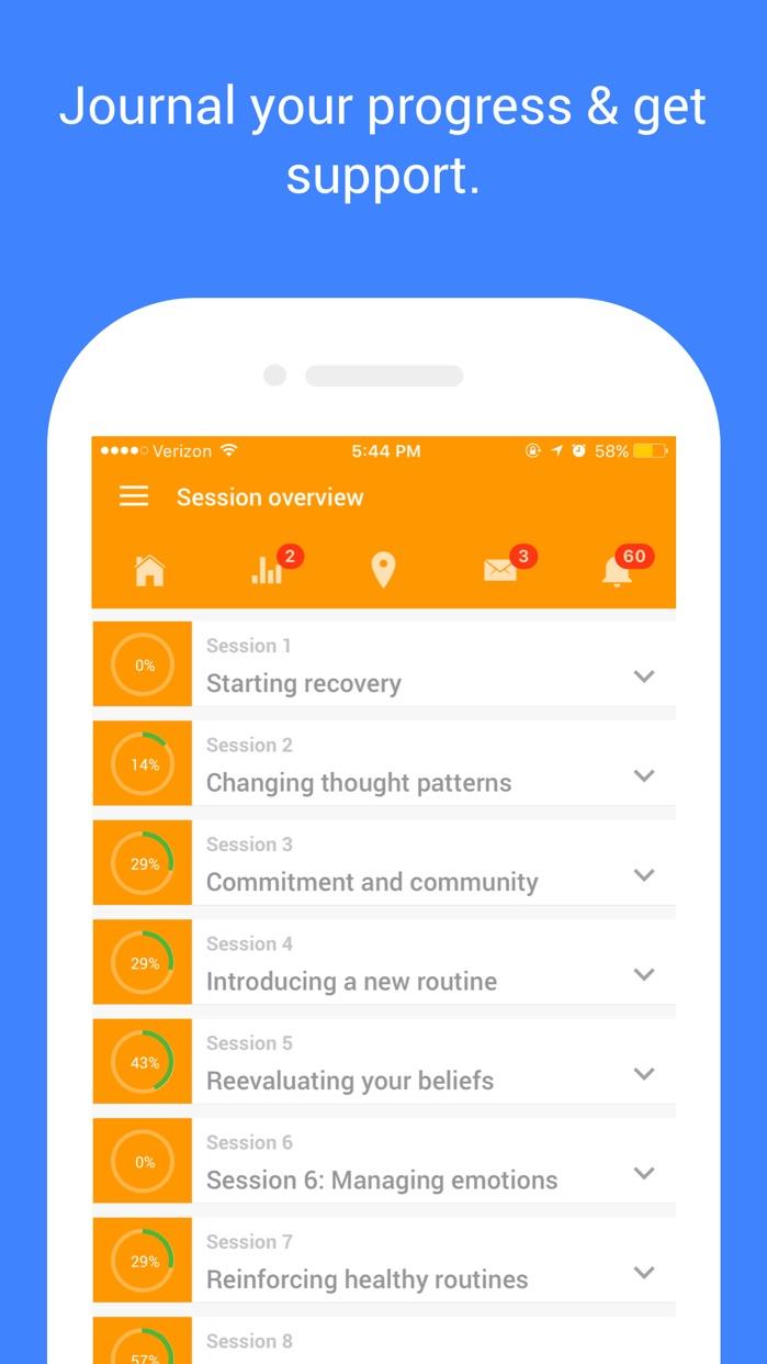 Addicaid - Addiction Recovery Support Screenshot