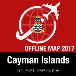 Cayman Islands Tourist Guide + Offline Map