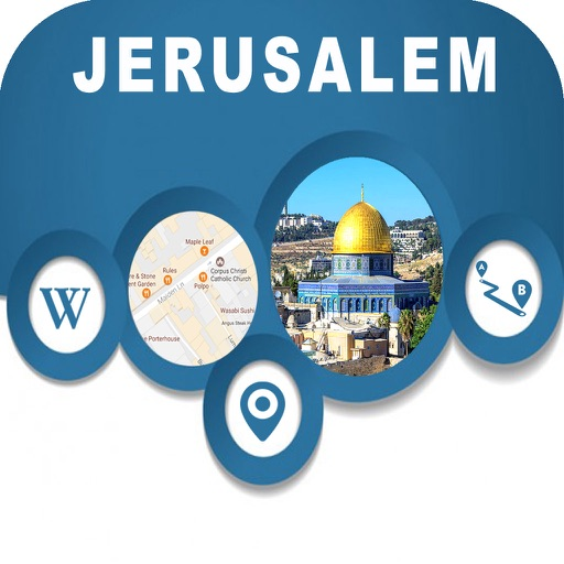 Jerusalem Israel Offline City Map Navigation Guide