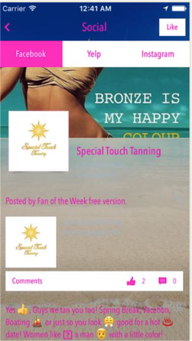 Special Touch Tanning screenshot four