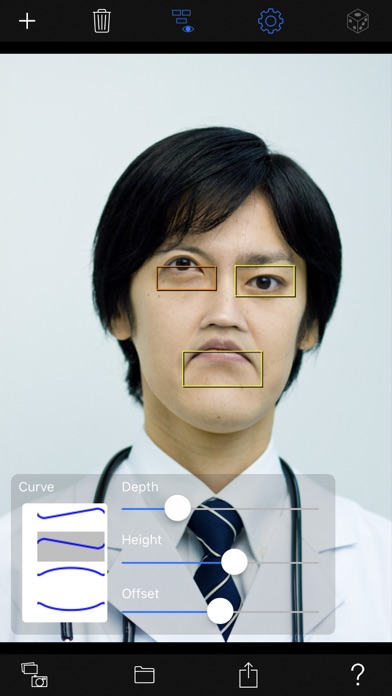 Facial expression changes screenshot 1