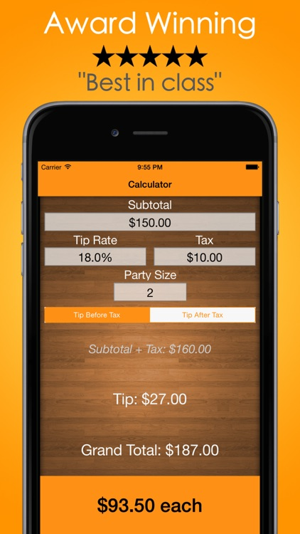 Tip Calculator - Tip Check, The #1 Gratuity Guide
