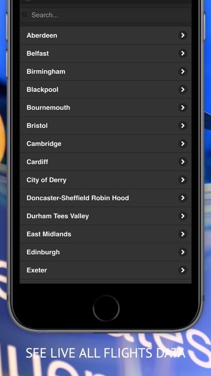 Air UK Free : Live flight tracker screenshot-3