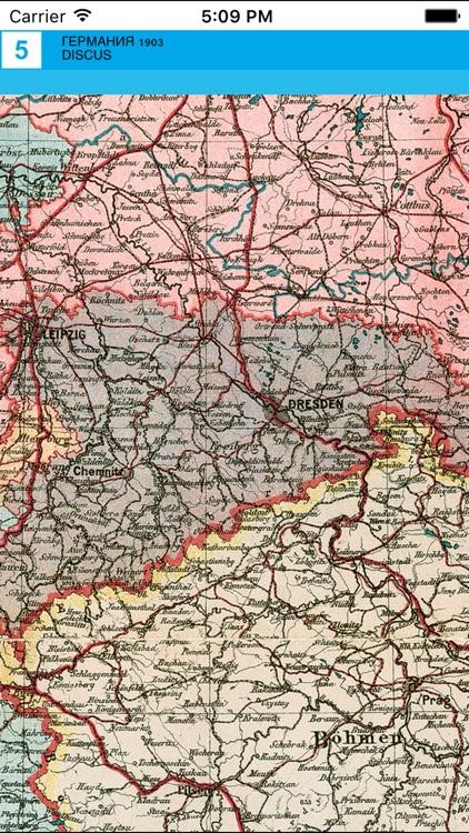 Germany 1903. Historical map. screenshot-3