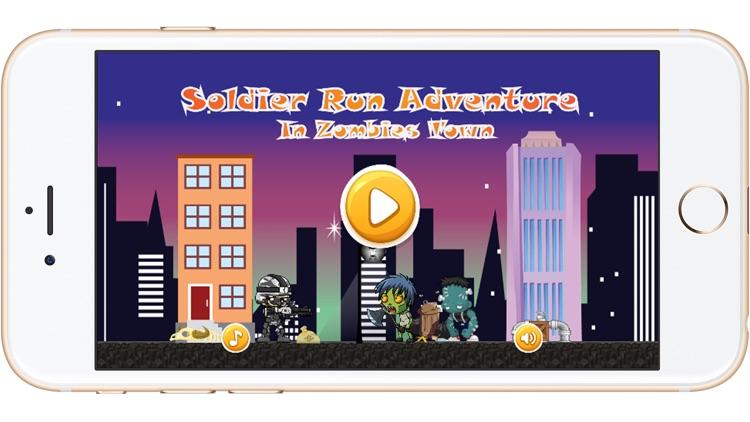 Super Soldier Run Adventure in Zombies Town screenshot-3