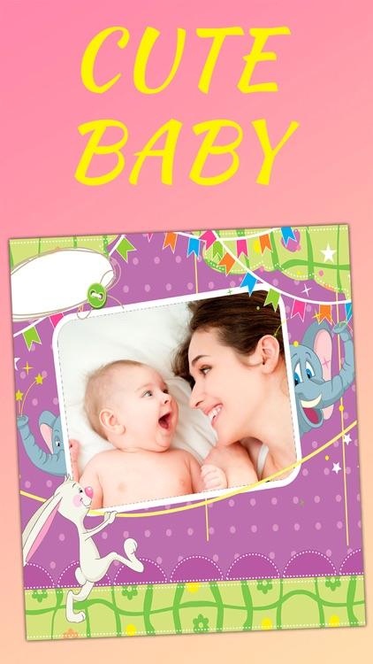 Baby frames photo editor - Pro screenshot-3