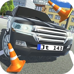 Land Cruiser Parking Stand 3D