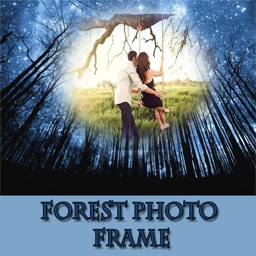 Forest And Nature Photo Collage Frame
