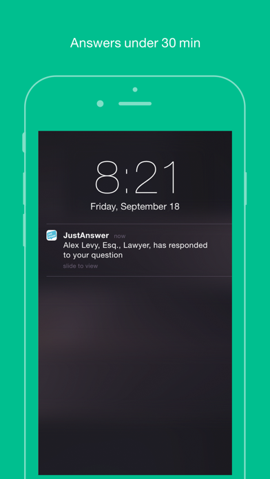 JustAnswer UK: Members Only screenshot two