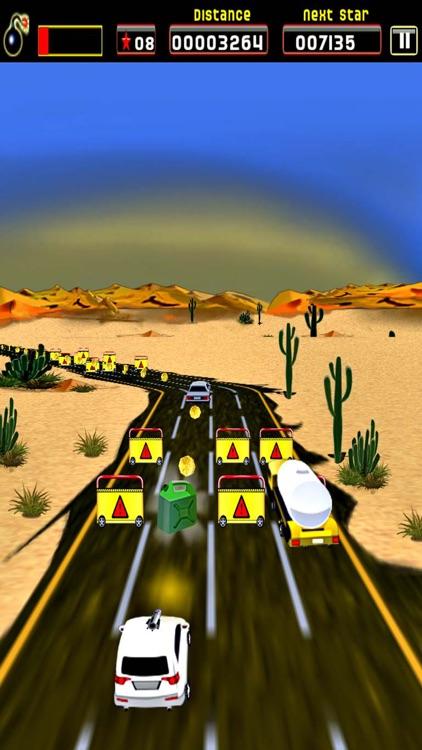 Sane Lane - Car Race, Time bomb screenshot-3