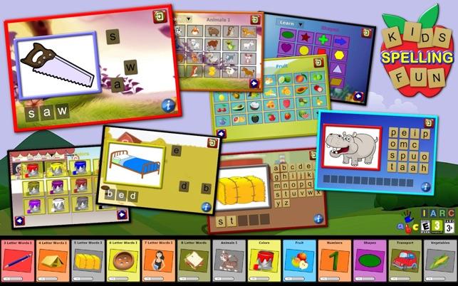 Kinder Rechtschreibung Spaß - lehrt 500 englische Screenshot