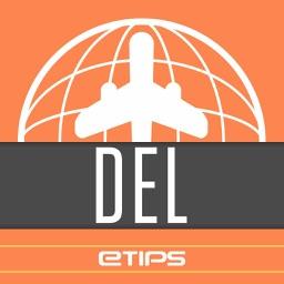 New Delhi Travel Guide & Offline City Street Map