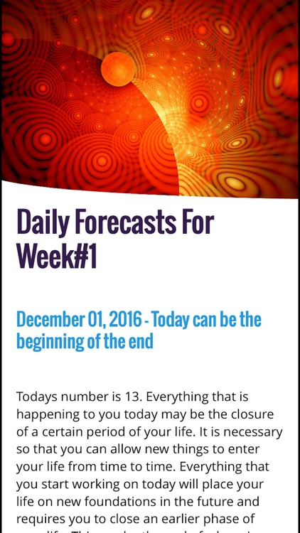 Numerology Forecast Magazine screenshot-3