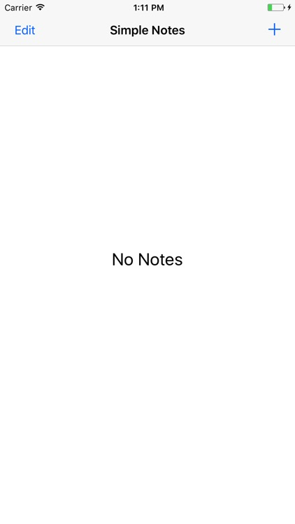 Simply Notes - a simple note taking app