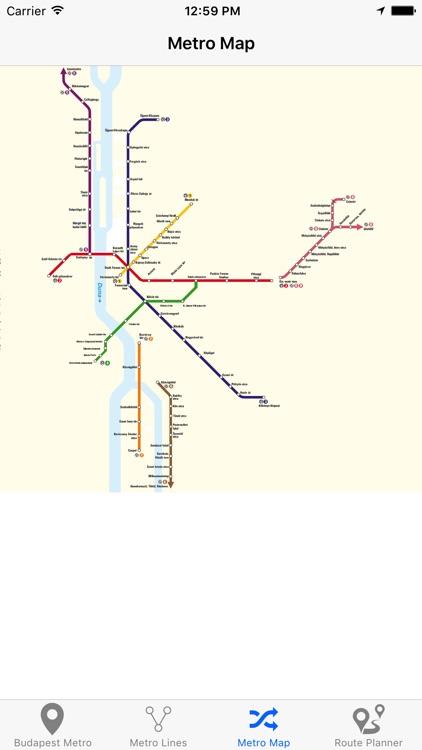 Budapest Metro - Subway screenshot-4