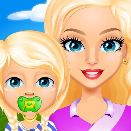 Baby & Mommy Story - Kids Games (Boys & Girls) Icon