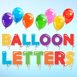 Balloon Letters and Numbers Sticker Pack