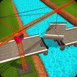 3D Bridge Construction Simulator - Bridge Builder