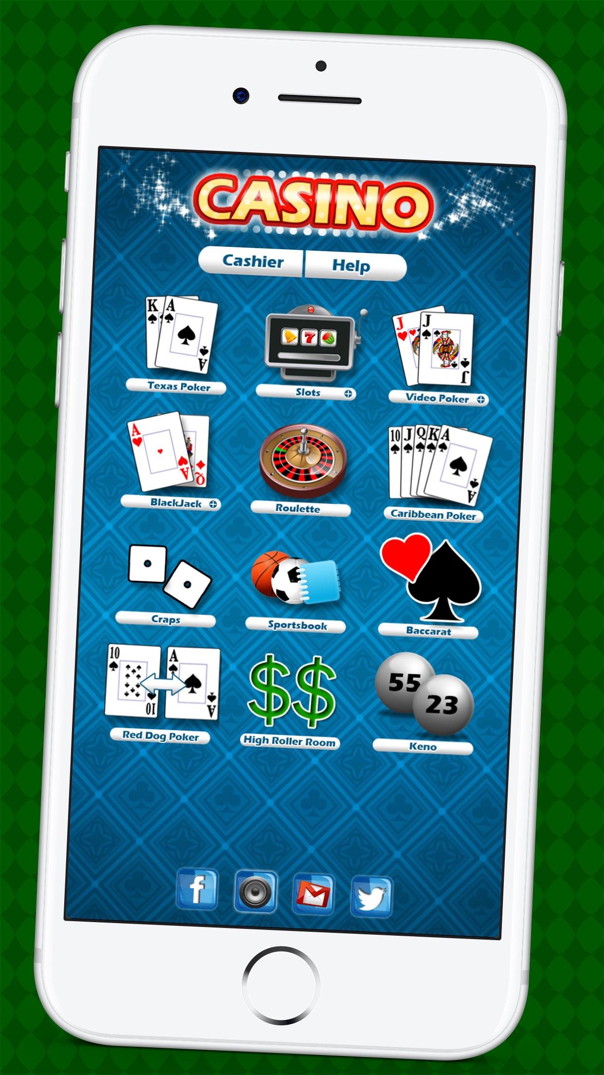 Casino & Sportsbook Screenshot